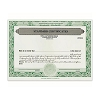 Corporation Stock Certificate
